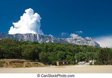 sight on ai-petri mountains