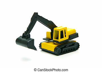 Miniature Construction Toys - Miniature model earth moving...