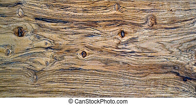 Close up of a Hickory Board - A hickory board showing the...
