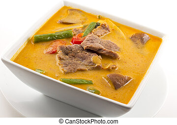 Thai Red Curry With Beef - Authentic thai cuisine Red Curry...