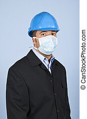 Man protection from flu