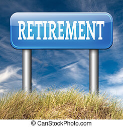 retirement - enjoy yor retirement by a decent pension plan...
