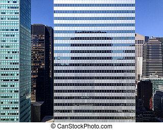 New York Skyscraper Facade