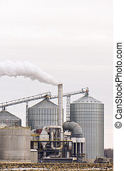 American Ethanol Refinery - Ethanol Refinery in the American...
