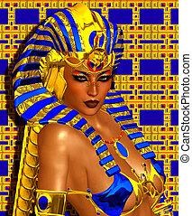 Cleopatra or Egyptian Woman Pharaoh - Cleopatra or any...
