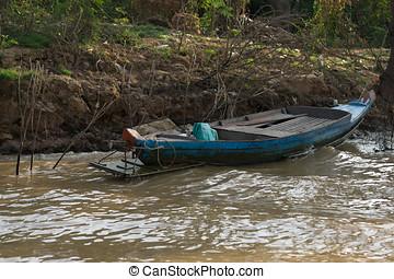 Tonle Sap Scenery - Tonle Sap lake scenery near Siem Reap.