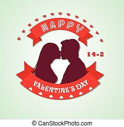 corações,  valentines, Dia, Feliz