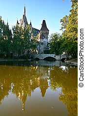 Vajdahunyad Castle -  Vajdahunyad Castle, Budapest, Hungary