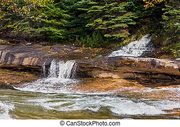Elliots Falls - Elliot Falls, a small beautiful waterfall in...