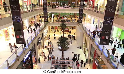 The Dubai Mall - World's largest and famous shopping mall is...