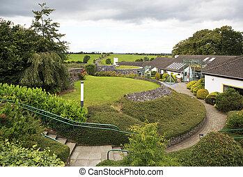 City of Cashel in Ireland. - Cashel, Ireland - August 22,...