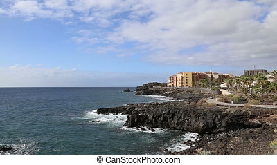 Tenerife beach coast Las Americas v - DSLR Full HD...