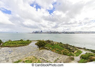 San Francisco skyline, California - The San Francisco...