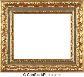 Gold Picture frame - Gold art picture frame