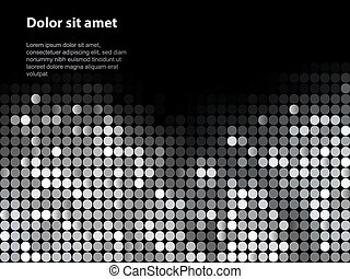 Shiny background with sequins. Template for your design. Can...