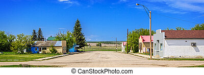 Abandoned Main Street - The abandoned buildings on main...