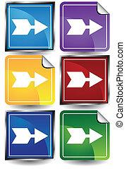 arrow color