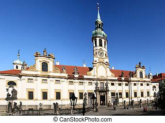 Loreta Church in Prague. Czech Republic