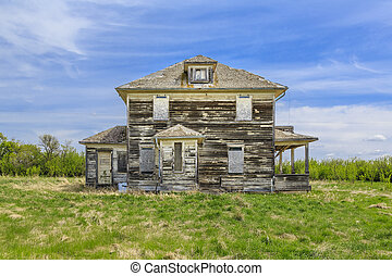 Abandoned Old Farm House
