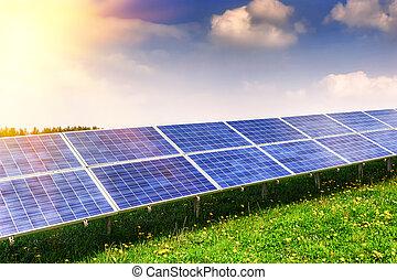 Solar energy field