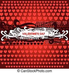 Valentines Day Heart Design.