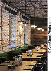 Great place to meet friends - Modern pub restaurant interior...