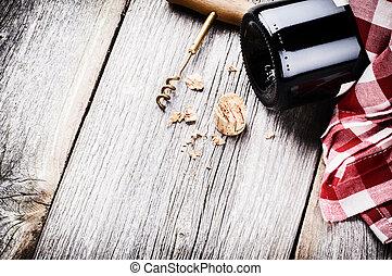 無作法, 設定, 赤, びん, ワイン