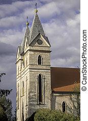 外部, 教堂