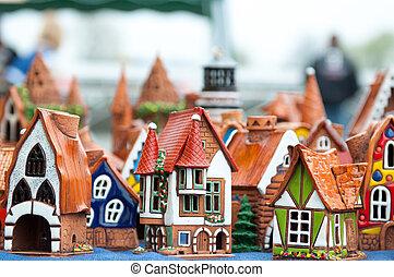 Souvenirs - Many ceramic toys for children. Souvenirs....