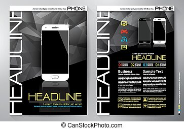Brochure design a4 vector template - Brochure design a4...