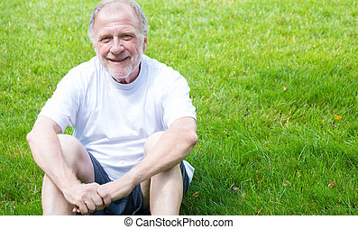 Smiling guy - Closeup portrait of happy, confident,...