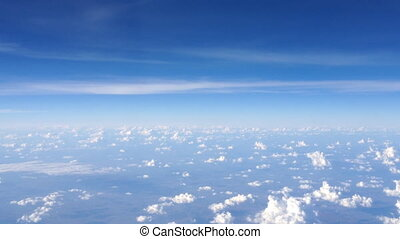 Cloud and Sky view from Plane Durin