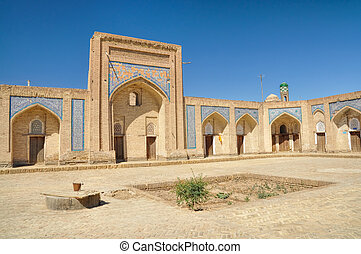 Khiva - Old town in Khiva, historic site and tourist...