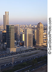 Ramat Gan City - Business center in Ramat Gan city, Israel
