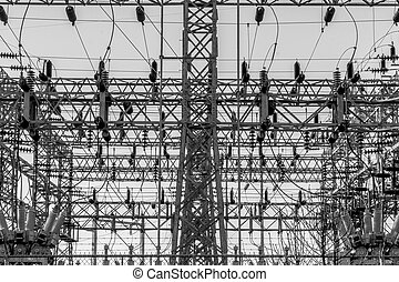 Black and White Substation - Black and White Electrical...