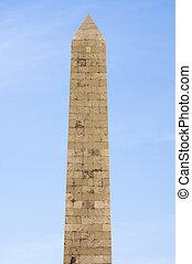 Obelisk - Big obelisk at sunset