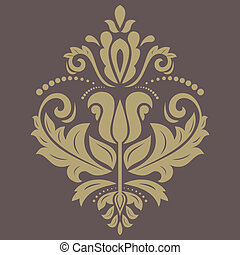 Floral Pattern. Orient Abstract Background - Floral oriental...