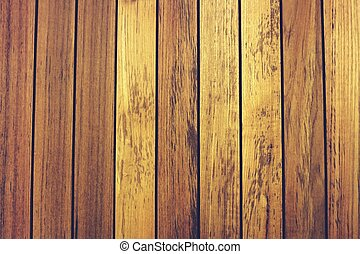 line up teak wood background - the teak wood line in closeup...