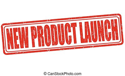 New product launch stamp