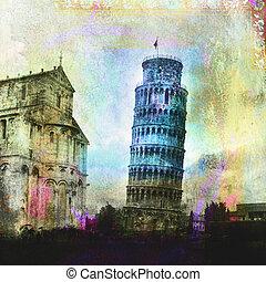 Leaning Tower Of Pisa - The leaning tower of Pisa. Photo...