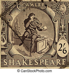 Shakespeare Festival Stamp - UK CIRCA 1964 - Shakespeare...