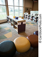 School Library - Interior of childrens library