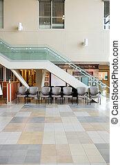 Interior Of Hospital Lobby