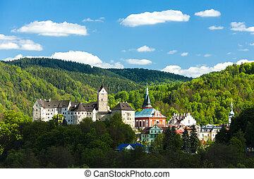 Loket, castello, ceco, repubblica,