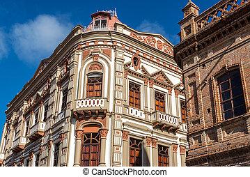 Historic Building in Cuenca, Ecuador