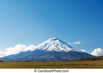 Cotopaxi Volcano - Cotopaxi volcano view just south of...