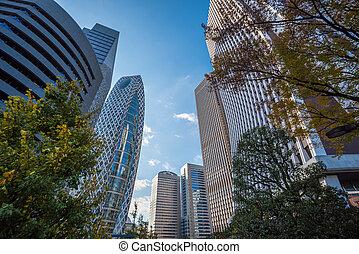 Skyscrapers of Shinjuku, Tokyo, Japan