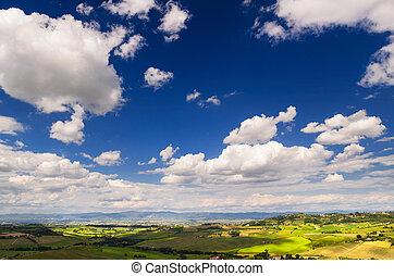 Toscana - Tuscany landscape, Toscana, Italy