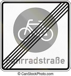 End Of Bike Road