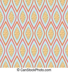 stripy retro pattern